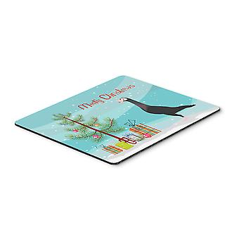 English Carrier Pigeon Christmas Mouse Pad, Hot Pad or Trivet