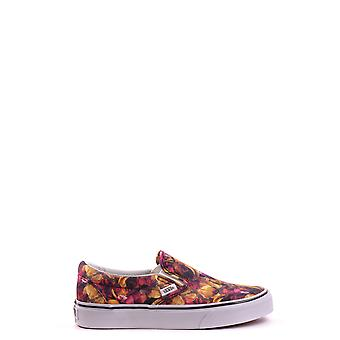 Vans ladies MCBI306020O multicolour fabric slip on sneakers