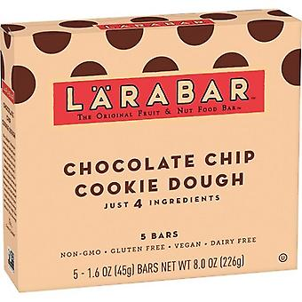 Larabar Chocolate Chip Cookie Dough Fruit & Nut Food Bar 2 Box Pack
