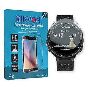 Garmin Forerunner 235 Screen Protector - Mikvon Armor Screen Protector (Retail Package with accessories)