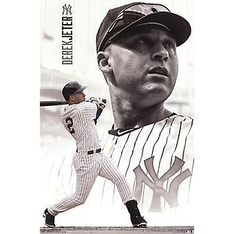 New York Yankees- D Jeter 14 Poster Print