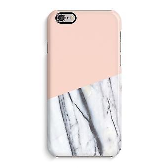 iPhone 6 / 6 s Full Print Fall (glänzend) - A touch Pfirsich