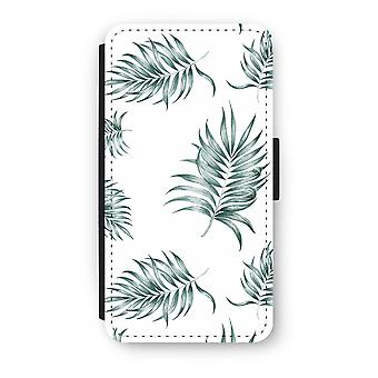 iPhone X Flip Case - Simple leaves