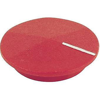 Cover + hand Red, White Suitable for K12 rotary knob Cliff