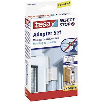 Fly screen adapter kit tesa Adapter Alu Comfort Suitable for Tesa Fly screen (value.1403575) 3 pc(s)