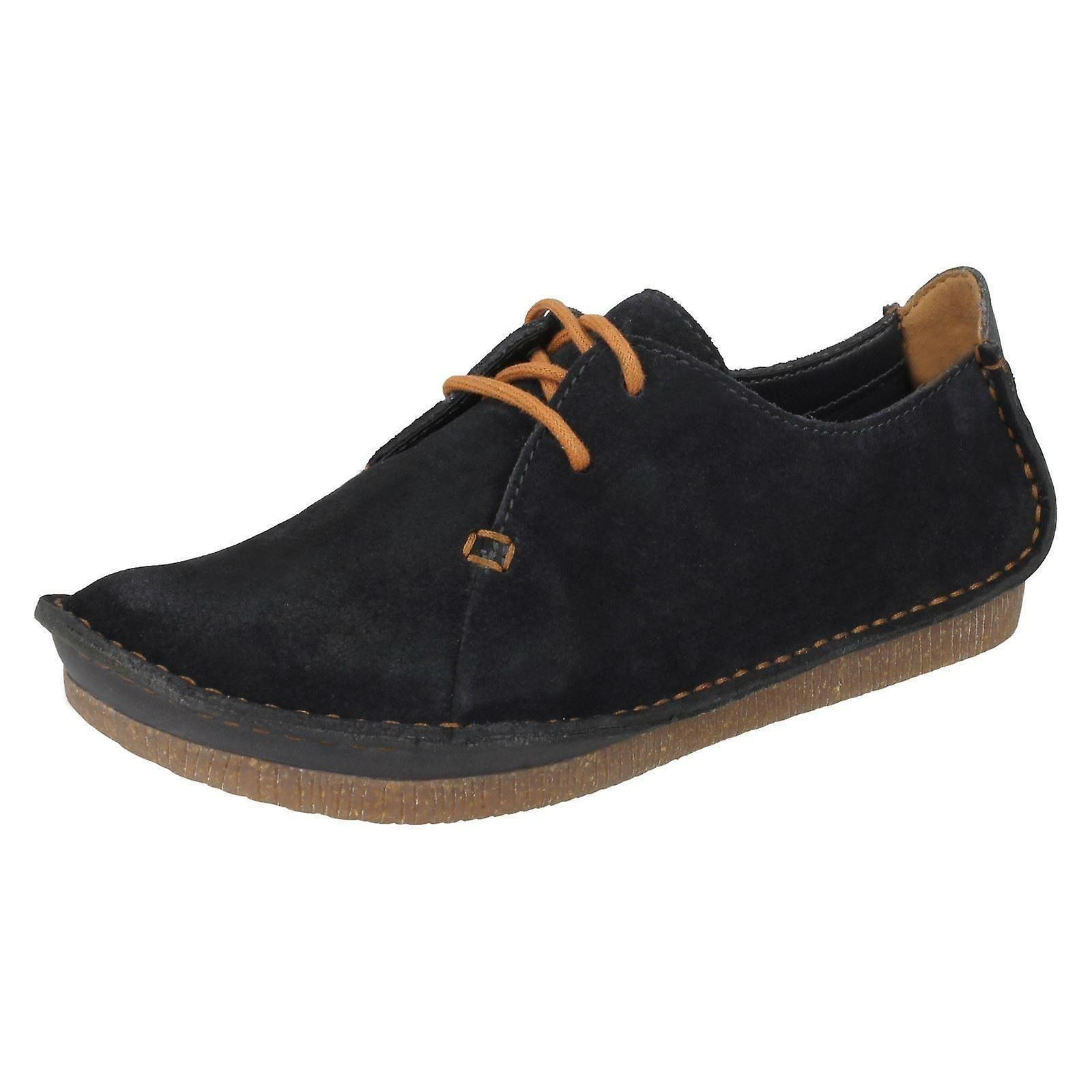 Clarks Damen Lace Up Smart-Casual Schuhe Janey Mae