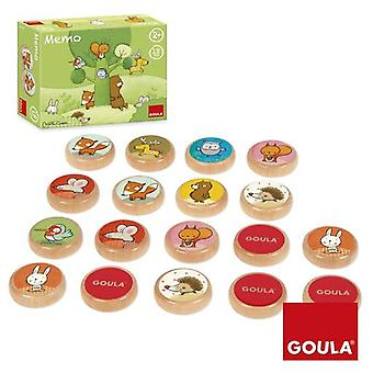 Goula Memo, Tom Y Sus Amigos Del Bosque (Babies and Children , Toys , Boardgames)