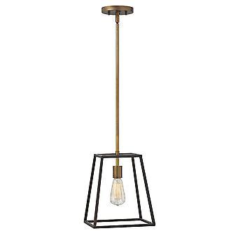 Hinkley Lighting Fulton 1 Light Cage Pendant In Bronze