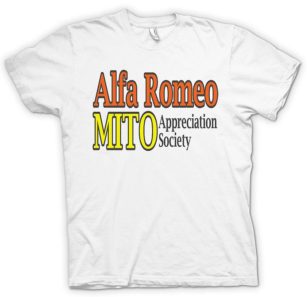 Femmes T-shirt - Alfa Romeo Mito Appreciation Society