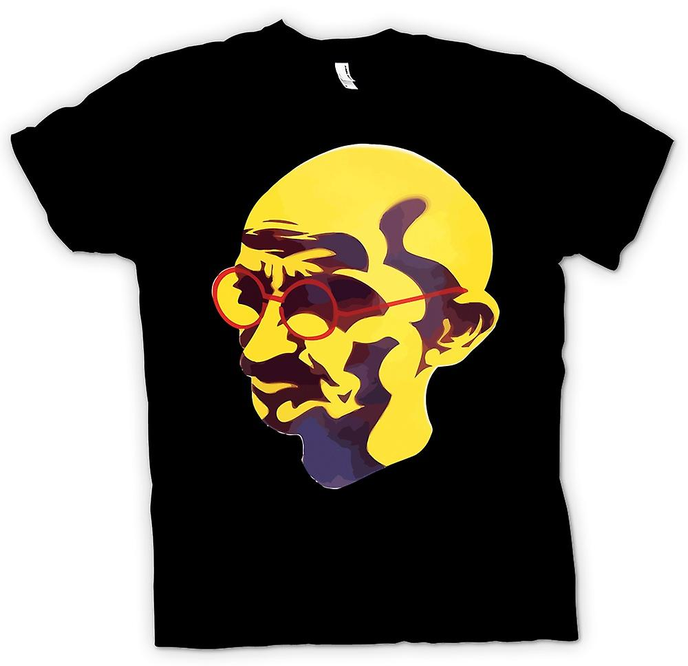 Womens T-shirt - Mahatma Gandhi - Indian Icon