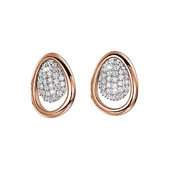 ESPRIT collection ladies earrings cubic zirconia NYXIA ELER92432A000