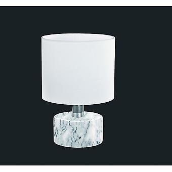الثلاثي إضاءة مصباح طاولة الرخام الأبيض الحديثة أورلاندو