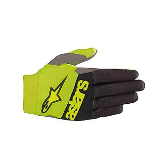 Alpinestars Yellow-Fluorescent-Black 2019 Racefend MX Gloves