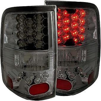 AnzoUSA 311171 Smoke LED Taillight for Ford F-150 - (Sold in Pairs)