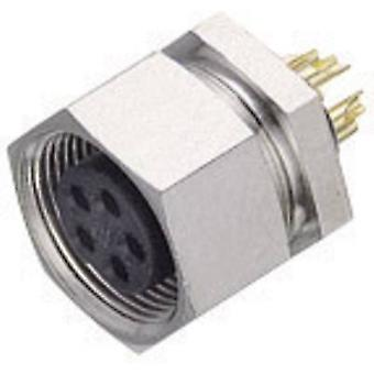Binder 09-0078-00-03 Sub-micro Circular Connector Nominal current (details): 4 A