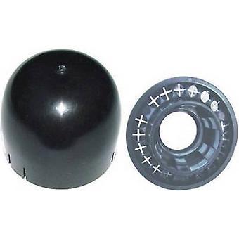 Mât d'étanchéité set A.S. SAT 48801 adaptéaux poteau Ø (max.): 50 mm noir