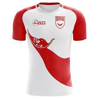 2018-2019 الفصح الجزر الرئيسية مفهوم كرة القدم قميص