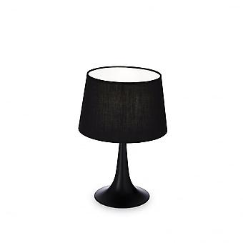 Ideal Lux London Table Lamp Small Black