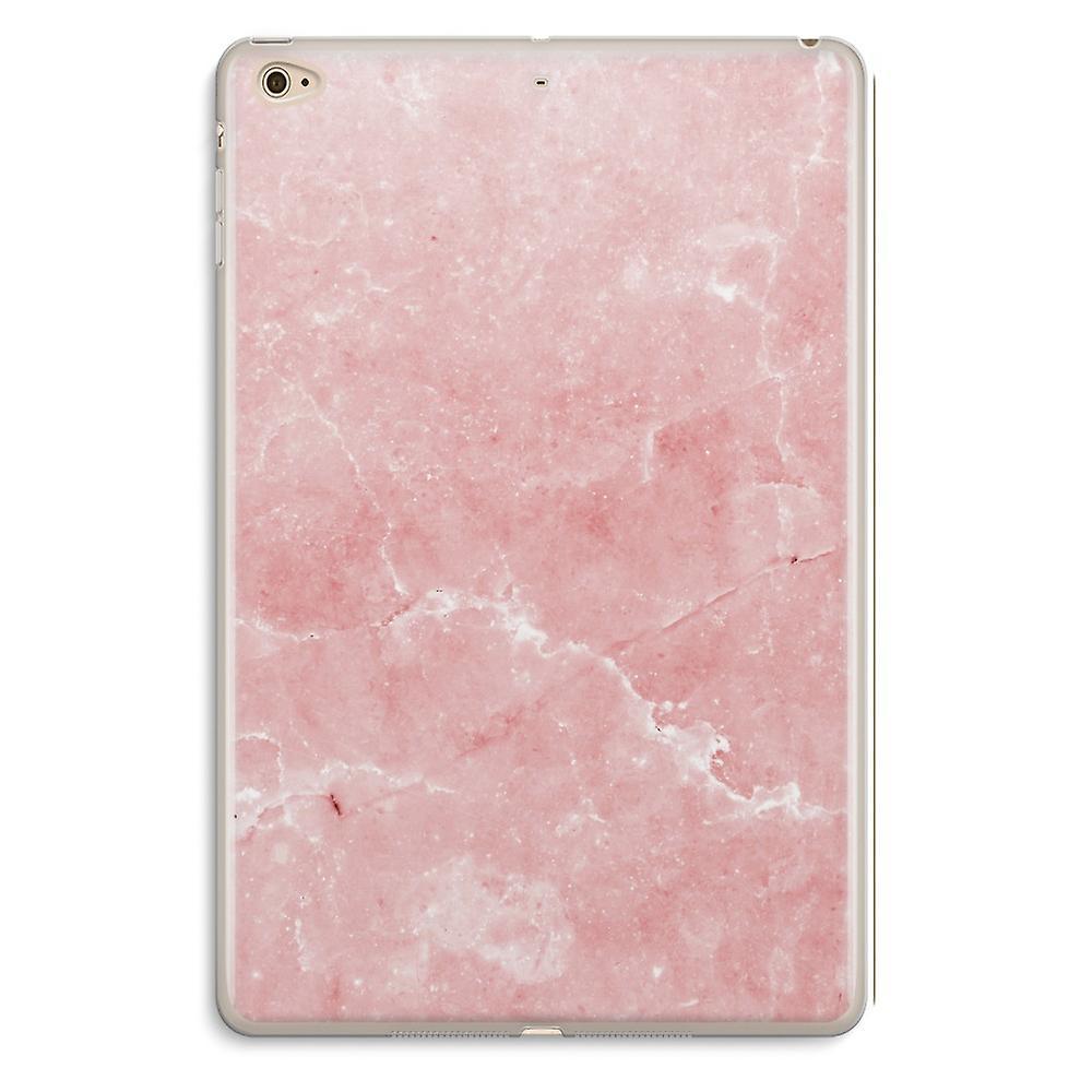 iPad Mini 4 Transparent Case (Soft) - Pink Marble