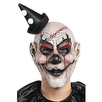 Kill Joy Joker Hofnarr Horror gruselig böse Scary Halloween Mens Clownskostüm Maske