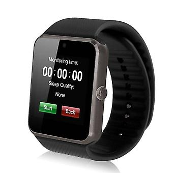 Stuff Certified ® Original GT08 Smartphone Watch OLED SmartWatch Android iOS Black