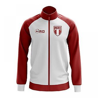 Peru Concept Football Track Jacket (White)