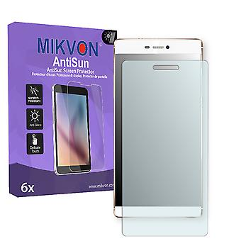 Huawei P8 Screen Protector - Mikvon AntiSun (Retail Package with accessories)
