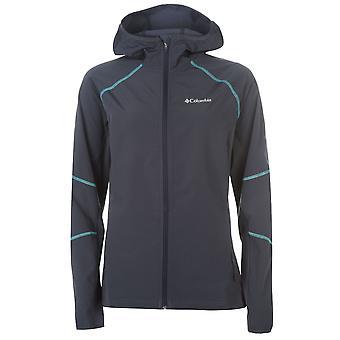 Columbia Womens Ladies Jacket Softshell Coat Top Long Sleeve Lightweight Zip