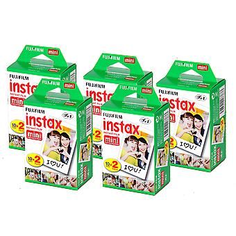 FUJIFILM - 5 Pack Instax Mini 8 Camera Film (BIG PACK)