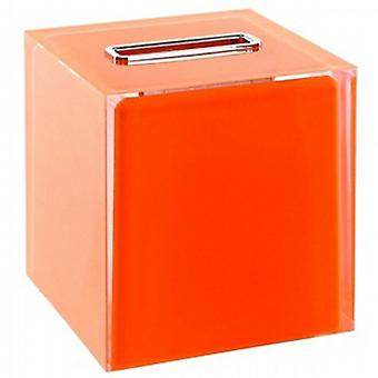 Gedy Rainbow Square Tissue Box Orange RA02 67