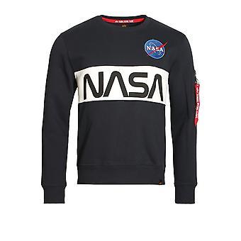 Alpha Industries NASA inläggningar tröja | Marinen