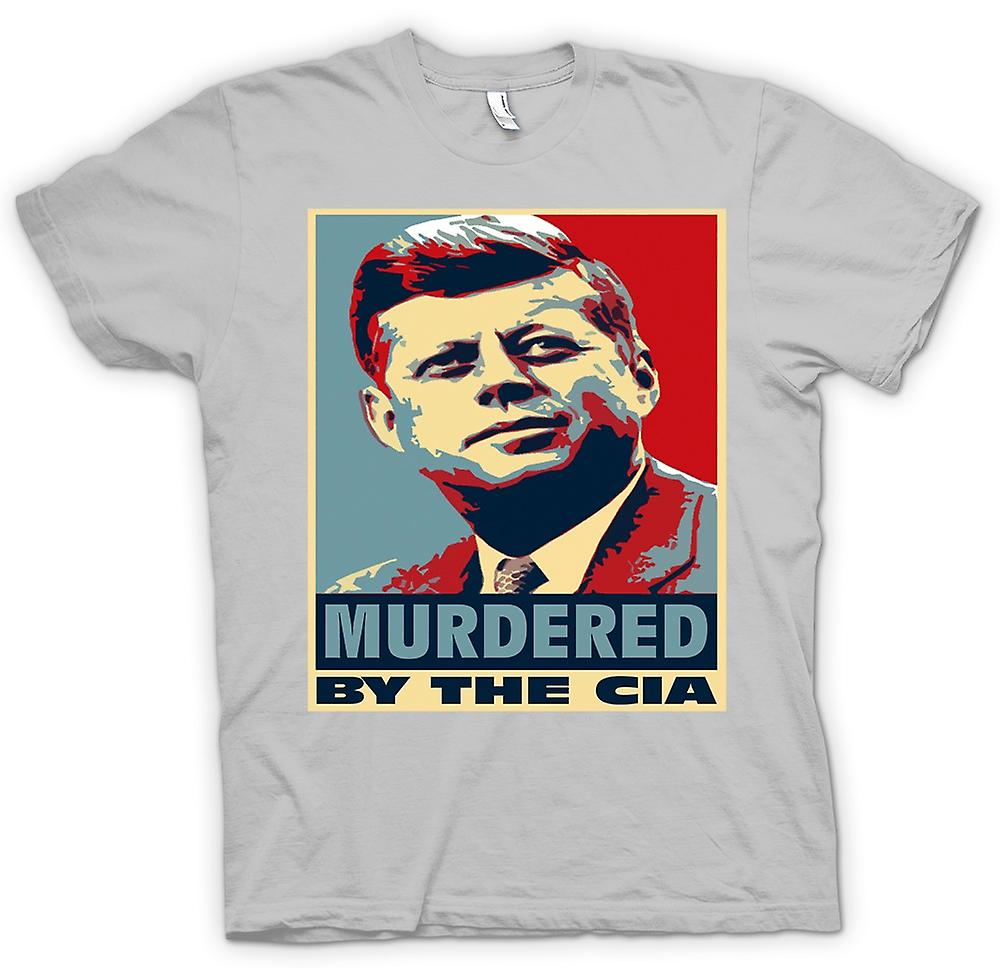 Mens T-shirt - JFK Murdered By CIA