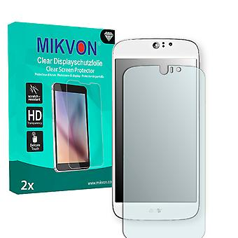 Acer Liquid Jade S Dual Sim Screen Protector - Mikvon Clear (Retail Package with accessories) (reduced foil)