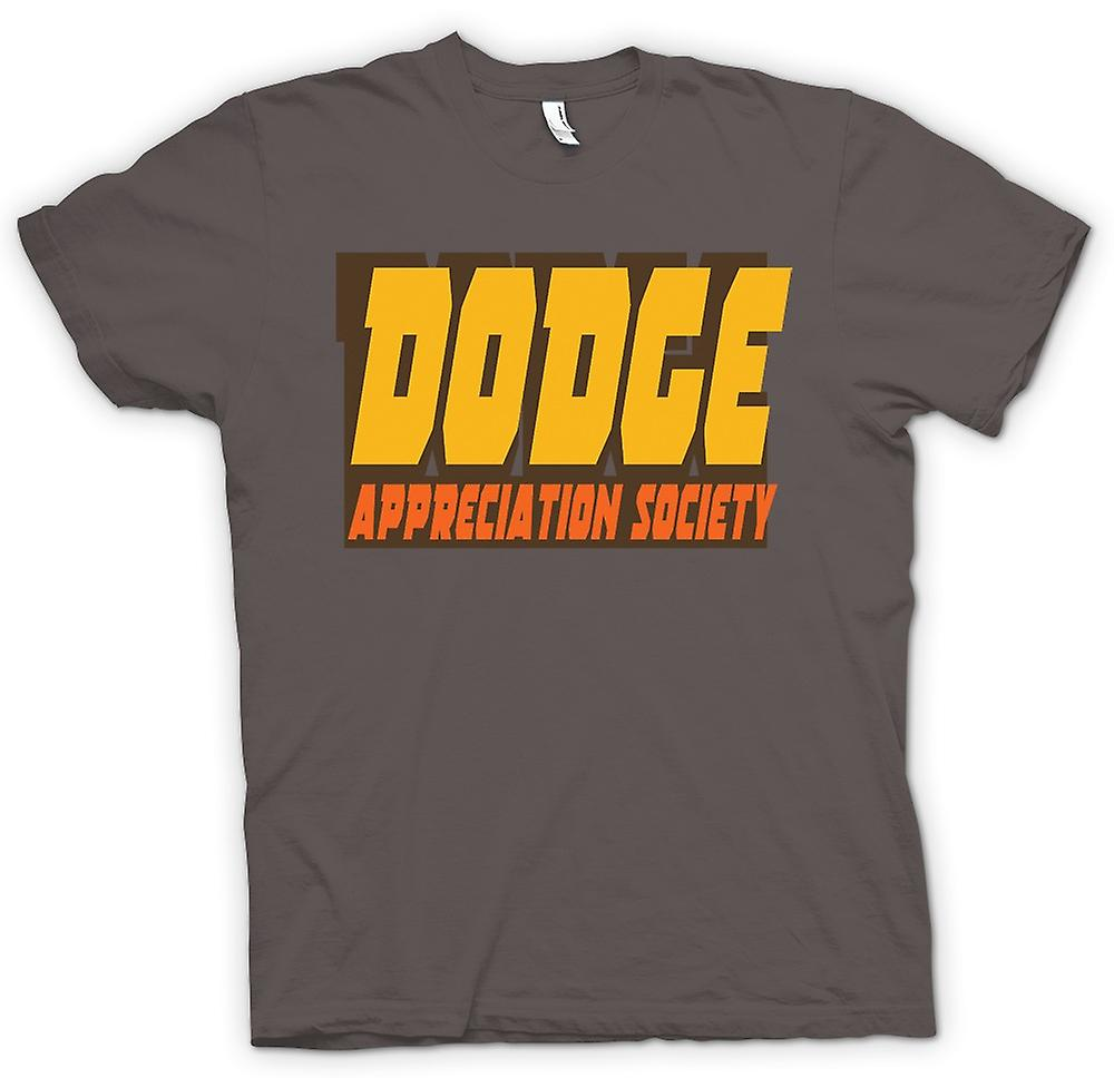 Hommes T-shirt - Dodge Appreciation Society