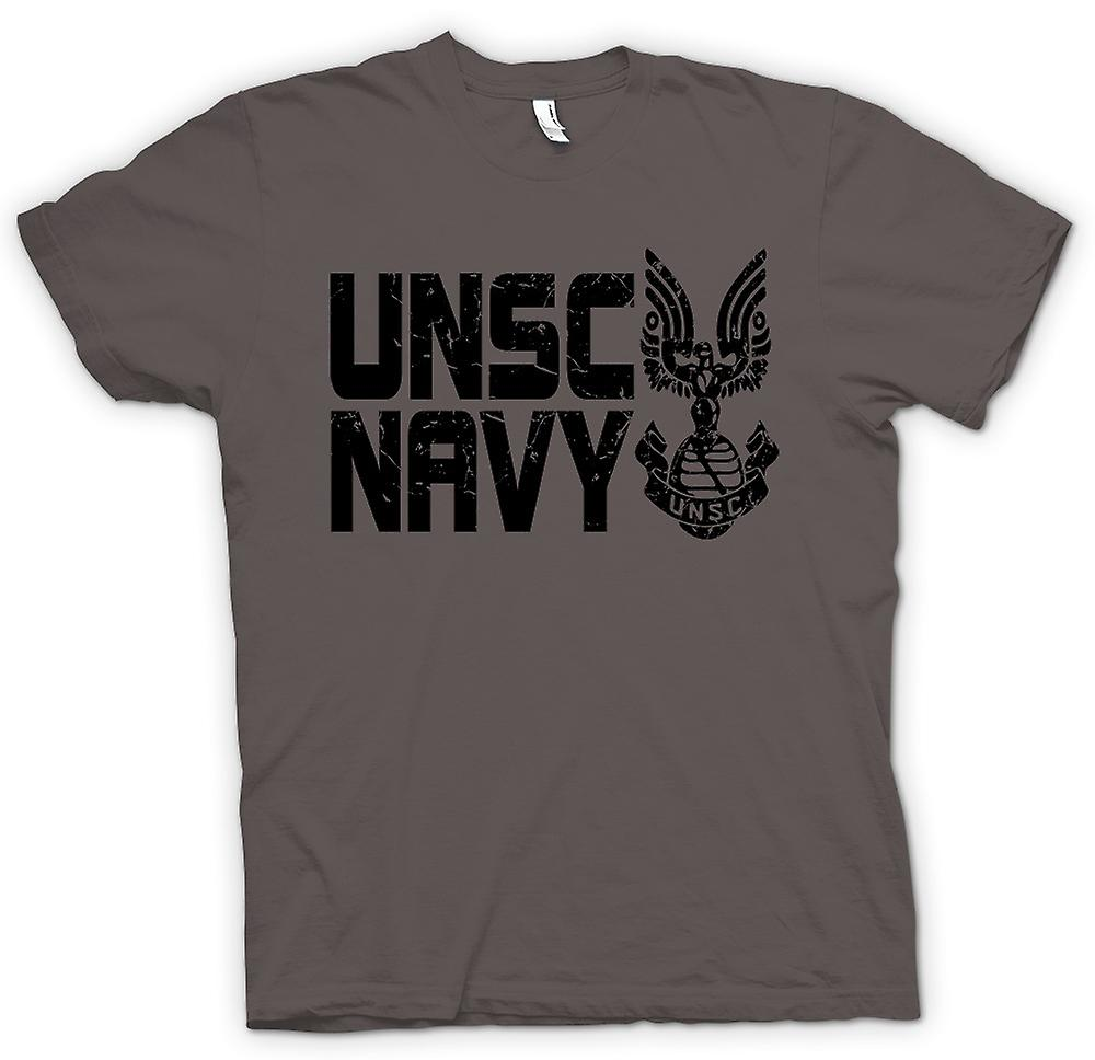 T-shirt-UNSC Logo Navy - Gamer