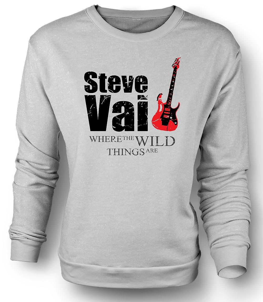 Felpa Mens Steve Vai Wild Things - Guitar Legend