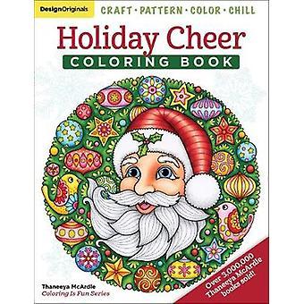 Holiday Cheer Coloring Book - Craft - mönster - färg - Chill av SEM