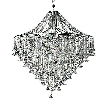 Searchlight 3497-7CC Dorchester 7 Light Crystal Chandelier