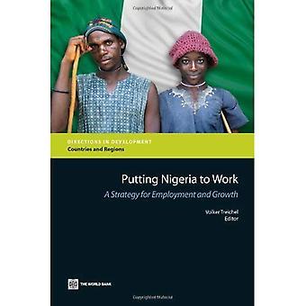 Att sätta Nigeria för arbete: en strategi för sysselsättning och tillväxt