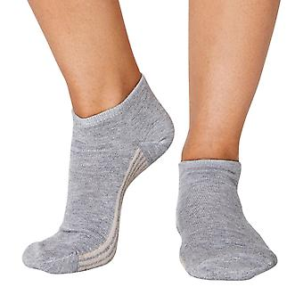 Jane women's super-soft bamboo ankle socks in grey | By Thought