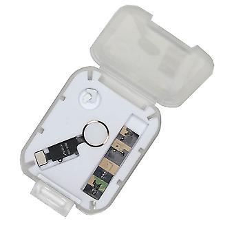 Home Button Wiederherstellen Kit für iPhone 7/7 + / 8 / 8 + - weiß/Gold
