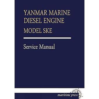 Yanmar Marine Diesel motor Model Ske door Yanmar