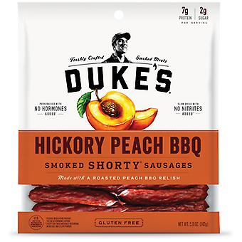 Duke's Hickory Peach BBQ Smoked Shorty Sausages