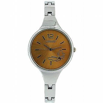 The Olivia Collection Ladies Gold Dial Bracelet Strap Dress Watch COS28