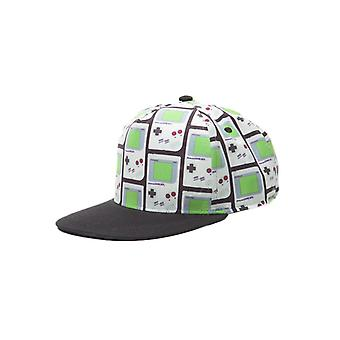 Nintendo Gameboy All Over Print Snapback Cap