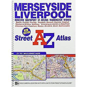 Merseyside Street Atlas - 9781782571742 Book