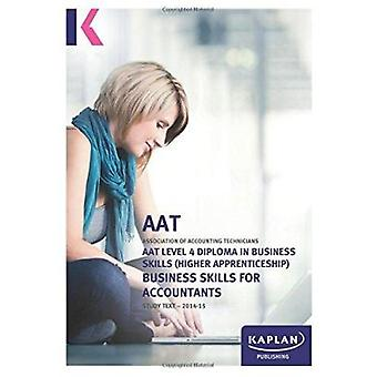 Business Skills for Accountants (Level 4) - Text - 9781784152055 Book