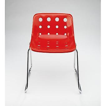 Loft Robin Day slee rode plastic Polo stoel