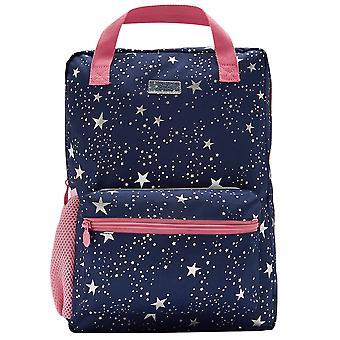 Joules Girls Easton Reflective Adjustable School Backpack