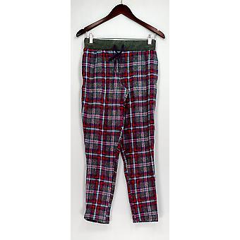 Calças do salão de Duds Petite de cutddl, shorts do sono PXS calças do pijama do velo cinzentas